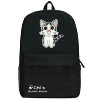 Wholesale Men S Canvas Backpacks - Chis Sweet Home backpack Relaxation daypack Chi S cat schoolbag Cartoon rucksack Sport school bag Outdoor day pack