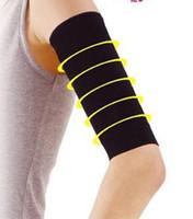şişman ince toptan satış-1 Adet / grup güçlü yağ yakma ince ince kol elastik kol kol bandı Sihirli Zayıflama üst kol şekli kadın moda Kol Isıtıcıları