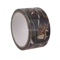 Wholesale M Outdoor Hunting Camouflage Stealth Waterproof Tape Wrap Bulrush Camo