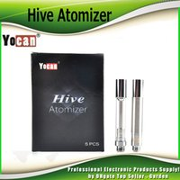 Wholesale Vaporizer Kits For Oil - Authentic Yocan Hive Atomizers Wax Vaporizer & Oil Cartridges No Leakage Design for Yocan Hive 2in1 kit tank 100% Genuine 2204033