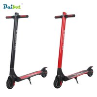 Wholesale E Scooters - No Tax Daibot 2017 New Foldable Electric Skateboard E-Scooter LG Battery 3 Gear Easy Folding Kick Scooter Hoverboard for Adults