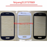 Wholesale lcd screen galaxy s3 mini - High Quality Outer Glass for Samsung Galaxy S3 mini i8190 LCD Front Glass Outer Lens Replacement