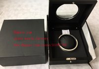Wholesale Watch Box Black Wood - Luxury High Quality HUB Watch Original Box Papers Card Cases Gift Boxes For HUB Bang King Power ETA 7750 HUB4100 Swiss Brand Watches