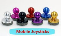 mini joystick pc al por mayor-2017 Más caliente Universal Mobile Joystick-IT mini Mobile fling joystick Arcade Game Stick Controller para iPad Android Tablets PC DHL gratis