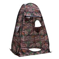 Wholesale fishing mm - Wholesale- Outdoor bird bath warm shed camouflage fishing photographymodel dressing tent as mobile toilet locker