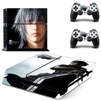 Nuova versione Final Fantasy XV 15 PS4 Vinyl Video Game Sticker per PlayStation 4 Console + 2 pezzi Decalcomanie del controller