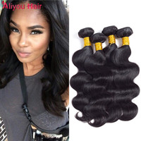 Wholesale products for peruvian hair resale online - Daily Deals Peruvian Body Wave Hair Weaves Hair Extensions A Grade Remy Human Hair Weave Products Just for you