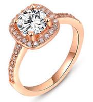Wholesale Dimond Engagement Rings - wedding ring crastyle 2017 new arrive Engagement gold Ti S925 arrow heart Anniversary wholesale Solitaire original Dimond women Paris EUR US