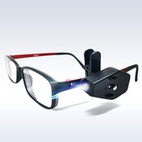 diy führte leselampe großhandel-Flexible Book Reading Lights Nachtlicht für Brillen und Werkzeuge Mini LED Brillen Clip On Universal Portable Novelty Lamp Brillen Lampe