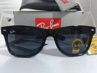 Wholesale Metal Hinge Sunglasses - 2017 Ray 2140 bans SIZE 54MM Sunglasses High Quality Metal Hinge WOMEN Sunglasses Glasses Women Sunglasses resin lenses Unisex