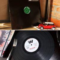 Wholesale Lps Decoration - Wholesale- 2pcs Creative 30.5cm Diameter Pacemats LP Vinyl Record Model Cup Mat Place Mat Table Decoration Vinyl Shape Placemat Mat