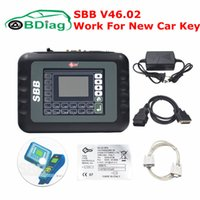 Wholesale Transponder Chip Programming - Newest Slica SBB V46.02 Programming New Key In Immobilizer Copy Transponder Chip Better Than SBB Key Programmer V33.02 Free Ship