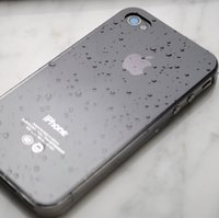 Wholesale Iphone 4s Cover 3d Crystal - for iphone 4s Case 4 3D Water Drop Dripping clear hard crystal cover total 9 colors in stock, 1pc free shipping