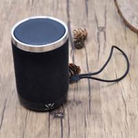 kleine mobile lautsprecher großhandel-Gewebe kleine Bluetooth Lautsprecher 3W 600mah Batterie Mobile Lautsprecher gute Bluetooth Lautsprecher Bewertungen Neues Modell