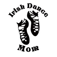 Wholesale dance stickers - Hot Sale For Irish Dance Mom Car Styling Decal Vinyl Sticker Dancer Dancing Jdm Car Accessories Graphics Decor