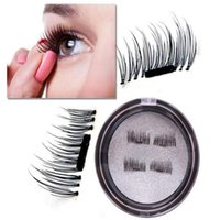 Wholesale Eyelashes Thin Natural - magnetic eyelashes -Angel Kiss 1 Pair 4 Pieces Ultra-thin 0.2mm Fake Mink Eyelashes for Natural Look, Reusable Best Fake Lashes