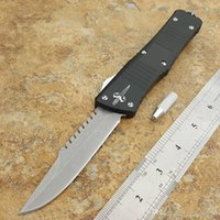 Wholesale Fishing Life - HOT Brand micro tactical dinosaur portable and telescopic spring automatic knife to defend outdoor life saving tool multi-function knife