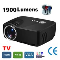 Grossiste-Corée Big Discount 2016 simple hd beamer Portable mini projecteur led 1900lumens home theater Projecteur Projetor support 1080P