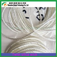 Wholesale E Cigarette Silica Wick - Wholesale- 3.0mmTwisted silica wick  ekowool twisted silica ropes for e-cigarettes,(5 meter pieces, 50pieces   pack),free shipping!!!