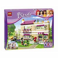 Wholesale Olivia Toys - 695pcs Girls Friends Set 10164 Series City Olivia House Doll Building Brick Block Minis CASA Toy Gift children educational toys