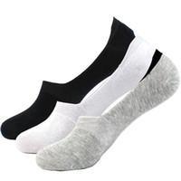 calcetines invisibles al por mayor-Venta al por mayor-Moda Nuevo algodón calcetines zapatillas de verano del otoño 6 colores de calidad de malla entallada calcetines invisibles del barco del diseño para las mujeres Envío Gratis