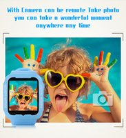 Wholesale Control Chat - waterproof kids smart watch kids gps watch smartwatch swimming watch with camera GPS location with voice chat function