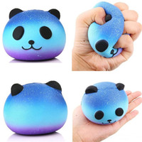Wholesale Fun Favor - DHL Free Cute PU Squishy Super Slow Rising Jumbo Panda Squishy Squeeze Phone Strap Kids Fun Toy Gift Decompression Toy