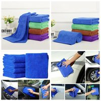 Wholesale Car Dry Cloth - Microfiber Car Cleaning Towels Car Wash Cloth Hand Towel Microfiber Towel Car Dry Pad Dishcloth Bathroom Clean Towels Hair Dry Towel OOA1271