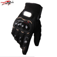 Wholesale Women S Leather Gloves Sale - Wholesale- Hot Sale Motorcycle Gloves motorbike Moto luvas motociclismo para guantes motocross 01C motociclista women men racing gloves