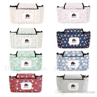 Wholesale Washable Reusable Wet Bag - Printed Diaper Bag Mummy Reusable Printed Wet Bags Outdoor Dotted Stylish Patterns Washable Travel Storage Bag Baby Stroller Hang Bags H533