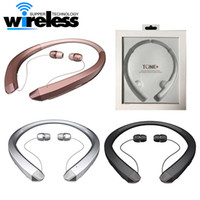 Wholesale Chip Gold - High Quality CSR4.1 Chip Bluetooth Headset Earphone Sports With Package HBS hbs for iphone samsung