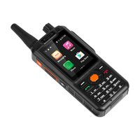 Wholesale Walkie Talkies Black - Alps F25 2.4 Inch Small Size 4G LTE Signal Booster Smartphone Quad Core 64bit Zello Android Walkie Talkie PTT Phones