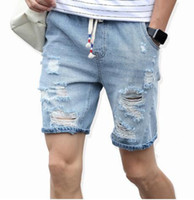 Wholesale Men S Comfortable Jeans - 2017 Men's cotton thin denim shorts New fashion summer male Casual short jeans Soft and comfortable casual shorts Free shipping