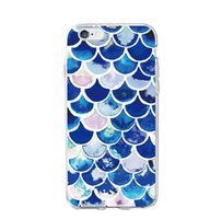 Wholesale Case Sexy - Fashion Sexy Bikini Shell Mermaid Tail Scale Soft Clear Phone Case for iPhone 7 7Plus 6 6S 6Plus 5 5S SE 5C SAMSUNG