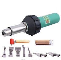Wholesale 110V V W CE hot air welder gun plastic welding torch hot air welding machine plastic welder gun