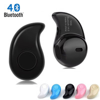 Wholesale Mini Ear Bluetooth Headset - Bluetooth Earphone Wireless mini S530 headphones earbuds Handsfree In Ear headset for iphone 5 5S 6S 7 xiaomi all phones