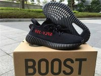 Wholesale Stealth Shoes - Boost 350 V2 Bred Black Red 350 V2 ZEBRA Beluga Stealth Grey Solar Red SPLY-350 For Men Running Shoes
