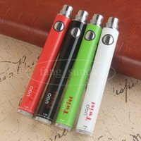 eVod Twist Variable Tension Stylo Vape Pen 510 Thread Ego C 650 mAh 900 mAh UGO USB Passthrough E Cigs pour Atomiseur à Cire