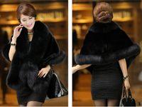 Wholesale Long Faux Fur Gilet - Winter Warm Faux Fox Fur Winter Coat Vest Gilet Outerwear 4 Color 2017 Elegant Fur Jackets Ladies Fashion Party Fur Winter Coat