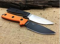 melhor faca fixa edc venda por atacado-Melhor EDC ESEE 3 Rowen Faca de Lâmina de Caça Fixo Facas G10 Lidar Com Faca de Sobrevivência Tático K Bainha