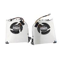 Wholesale Msi Cooler - Wholesale- laptop notebook CPU Cooling Fan fit for MSI GS60 series ( L+R) Cooler pad
