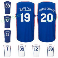Wholesale Dry Printing - Printed 20 Timothe Luwawu-Cabarrot Uniforms 19 Jerryd Bayless Jersey 0 Isaiah Canaan 11 Nik Stauskas 12 TJ McConnell 33 Robert Covington