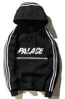 Wholesale Harajuku Lovers - New designer hoodie for men hoodies sweatshirt palace Harajuku streetwear track suit mens hip hop