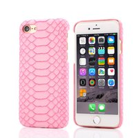 Wholesale Snake Pattern Back Cover - New Luxury Sexy Slim Snake Pattern Skin Phone Back Cases Hard PC Protector Cover Shell for iPhone 7 7 Plus Phone 6 6S plus