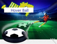 Wholesale Disc Balls - Funny Hover Ball Toys Air Power Soccer Balls Disc Gliding Multi-surface Hovering Football Game Toy Kid Chidren Gift