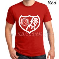 Wholesale White Miku - 2017 Rayo Vallecano FC club fans Rayo Tees T-Shirt Spagna Miku Javier Guerra Roberto Trashorras Gayoso Camiseta T Shirt Embarba