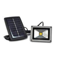 freies solar-flutlicht großhandel-Flut-Nachtlicht-Garten-Scheinwerfer-wasserdichte im Freienlampe der Sonnenenergie-10W LED für alles freie Verschiffen