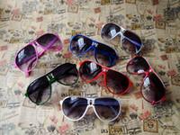 Wholesale Kids Boy Cute Cool - 300PCS Fashion Summer Kids Sunglasses Cool Anti UV Boys Girls Glasses Cute Large Kids Sunglasses gafas de sol