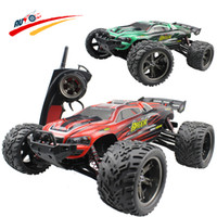 Wholesale Rc Cars Nitro - Wholesale-RC Car Buggy 1:12 2.4G High Speed Full Proportion Monster Truck Off road Pickup Car Big Foot Vehicle Toy