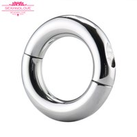 Wholesale Delayed Ejaculation - 2017 NEW cheap Sex toys for male cock C rings stainless steel ball weight penis rings Delay ejaculation Lasting erections bdsm toys for man
